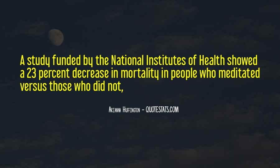 Who Health Quotes #368673