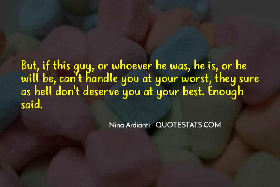 Whoever Said Quotes #398453