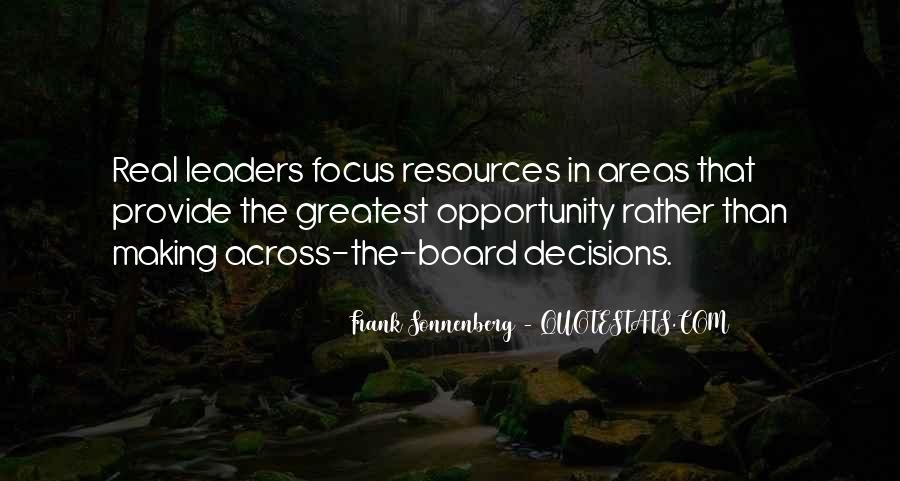 Quotes About Resource Allocation #1214675