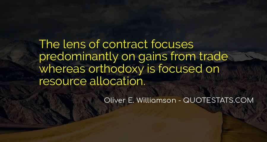 Quotes About Resource Allocation #1289844
