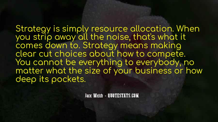 Quotes About Resource Allocation #81122