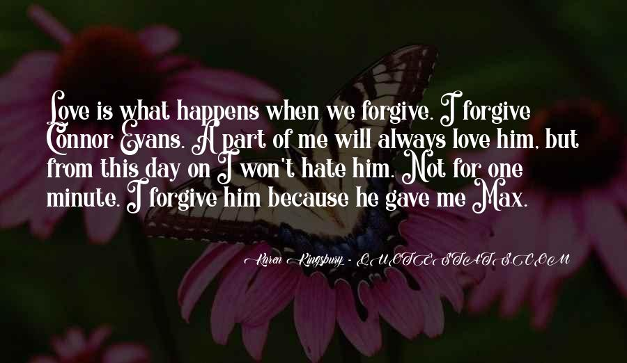Why Always Happens To Me Quotes #91728