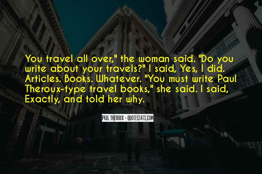 Why Do You Travel Quotes #1678276