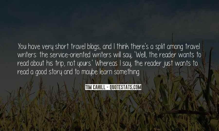 Why Do You Travel Quotes #3003