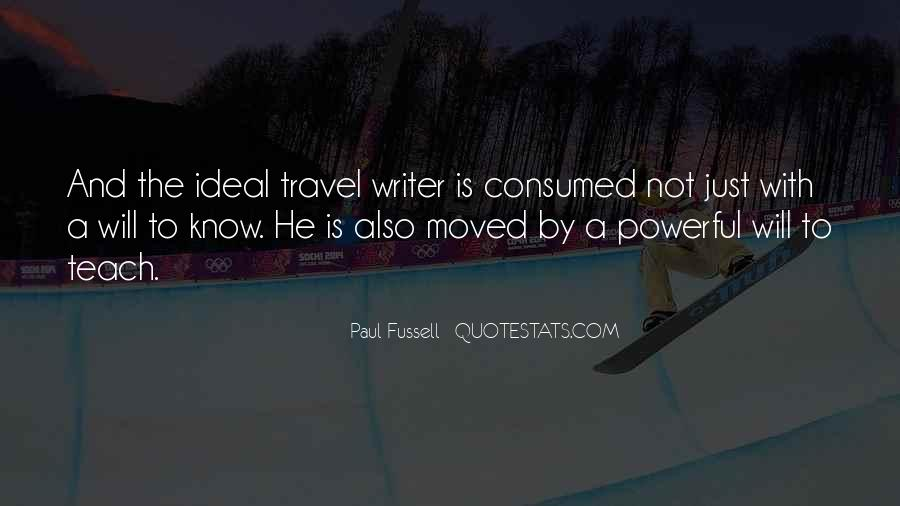 Why Do You Travel Quotes #5337