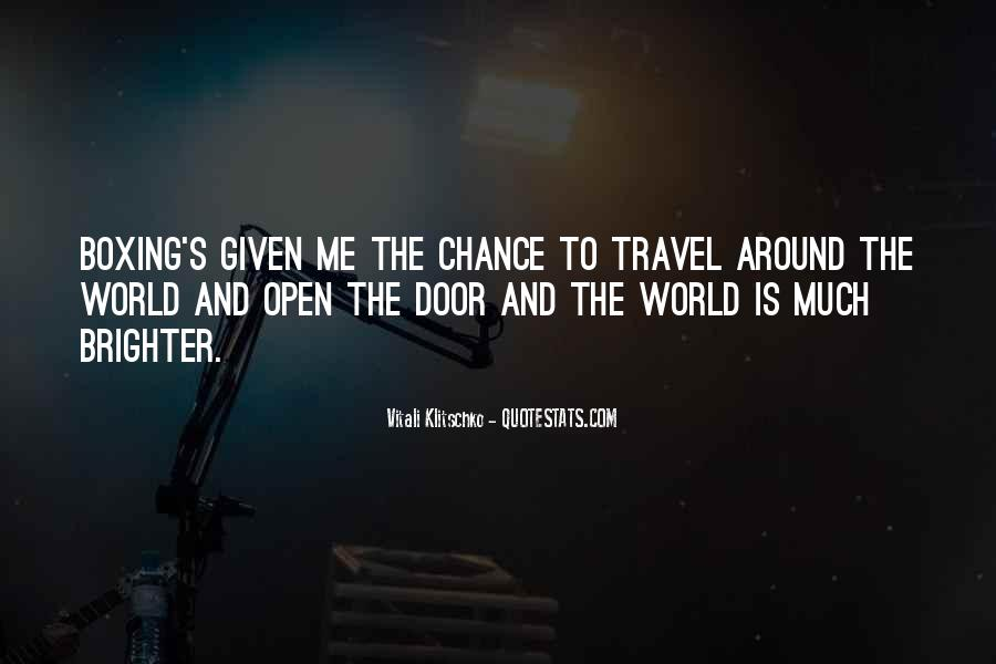 Why Do You Travel Quotes #5961