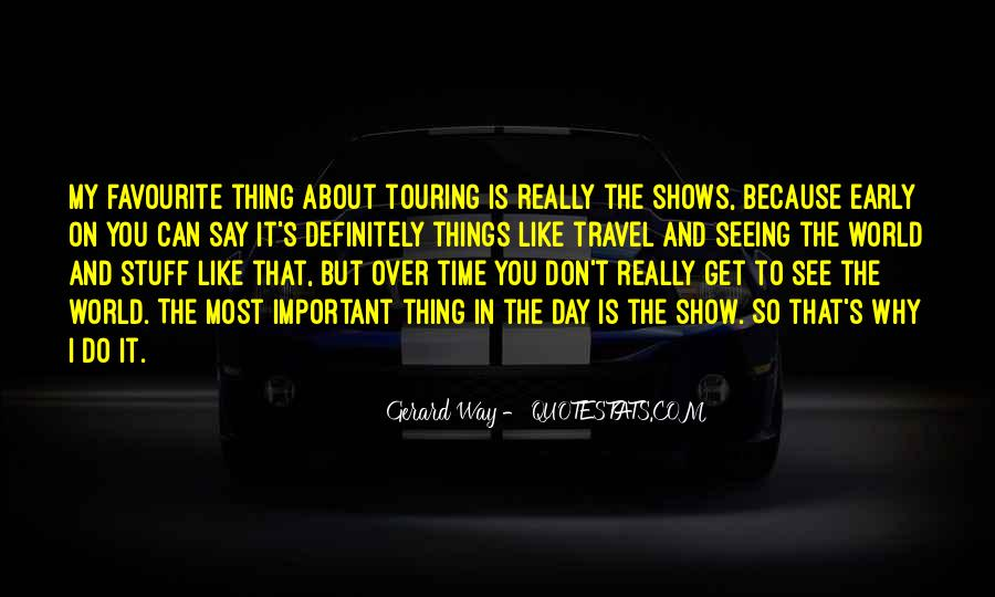 Why Do You Travel Quotes #605068