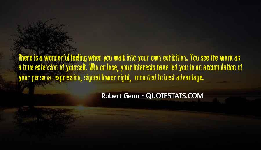 Quotes About Expression Of Feeling #1031247
