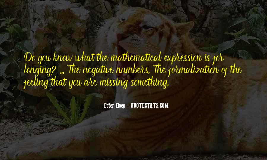 Quotes About Expression Of Feeling #1199491