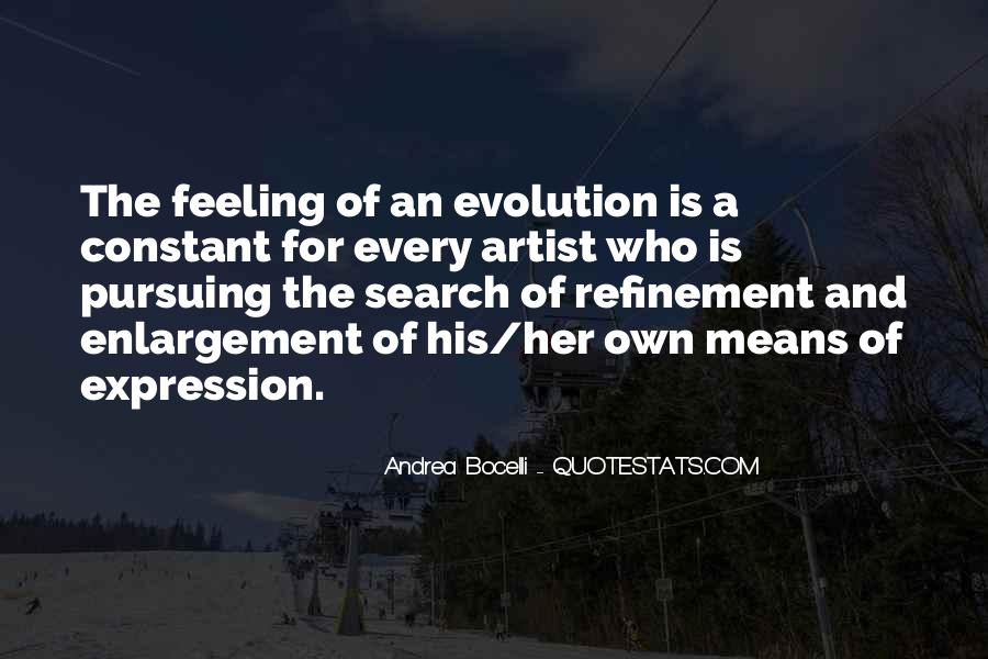 Quotes About Expression Of Feeling #1399272