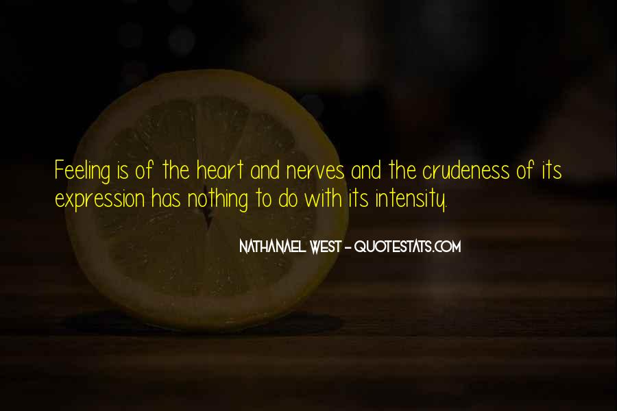 Quotes About Expression Of Feeling #1427895