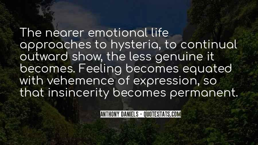 Quotes About Expression Of Feeling #185138