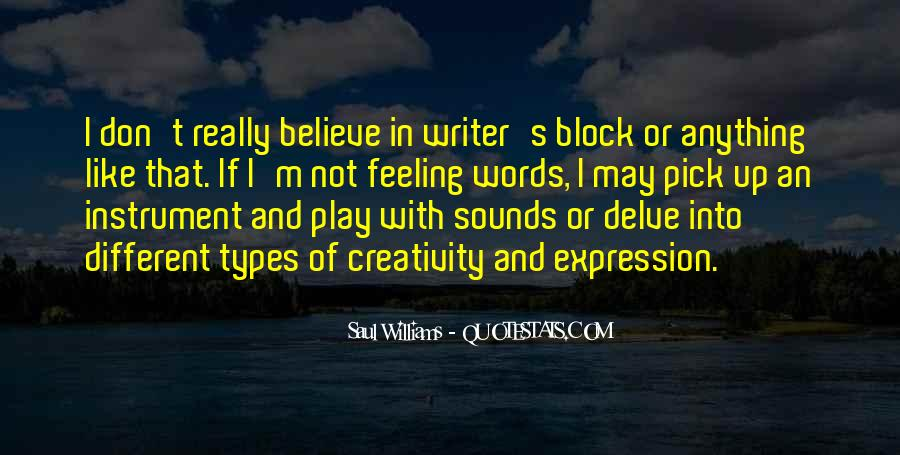 Quotes About Expression Of Feeling #248073