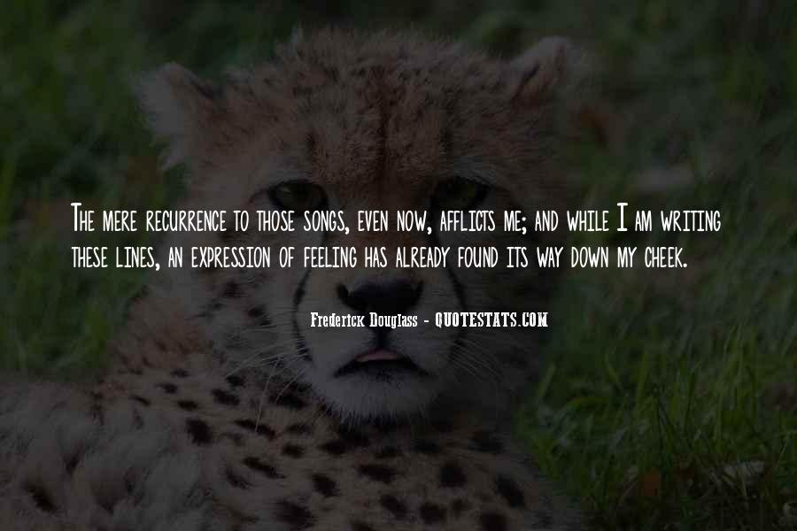 Quotes About Expression Of Feeling #837886