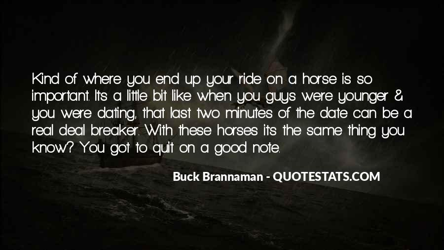 Why We Ride Horses Quotes #240050