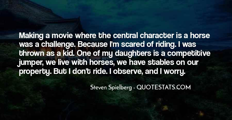 Why We Ride Horses Quotes #418590