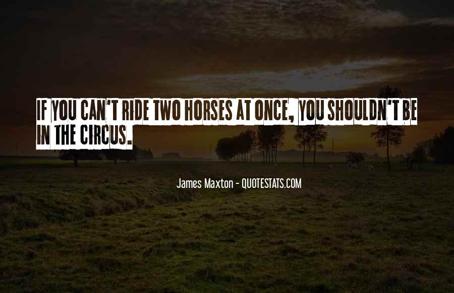 Why We Ride Horses Quotes #478322
