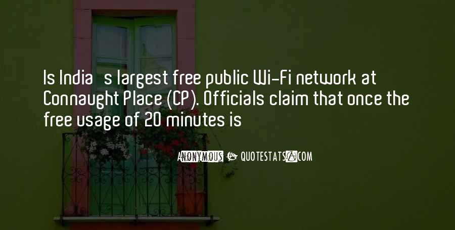 Wi Fi Quotes #169149