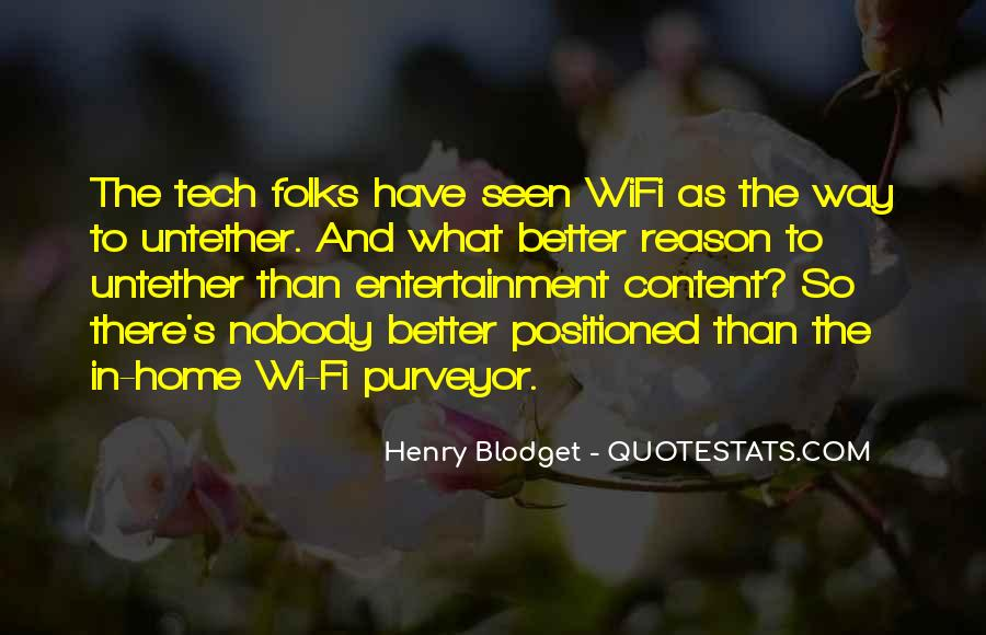 Wi Fi Quotes #1839458