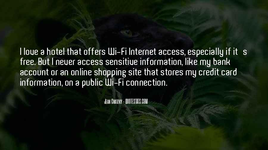 Wi Fi Quotes #216017