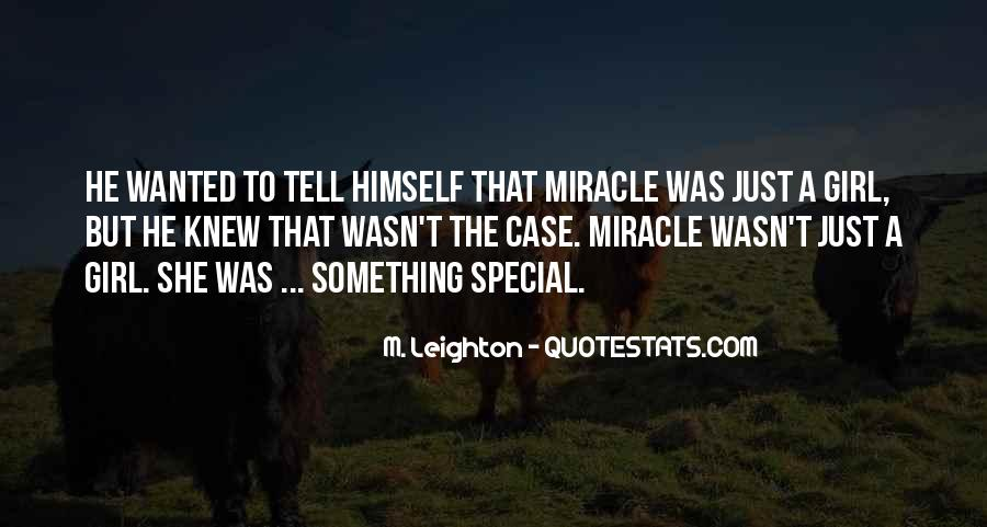 Quotes About A Miracle #106941