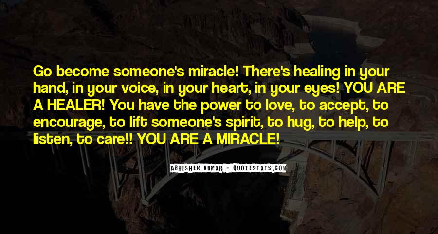 Quotes About A Miracle #112198