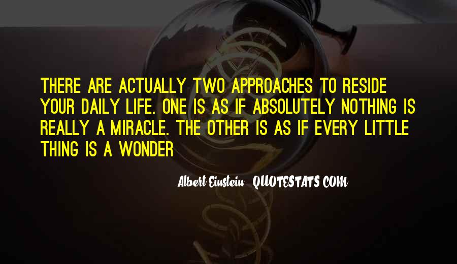 Quotes About A Miracle #24554
