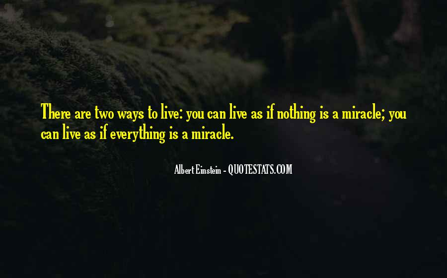 Quotes About A Miracle #42062