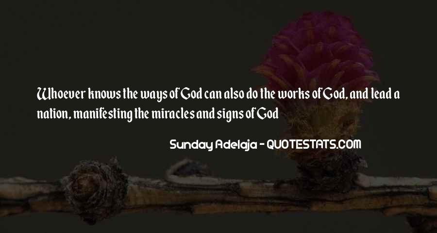 Quotes About A Miracle #47135