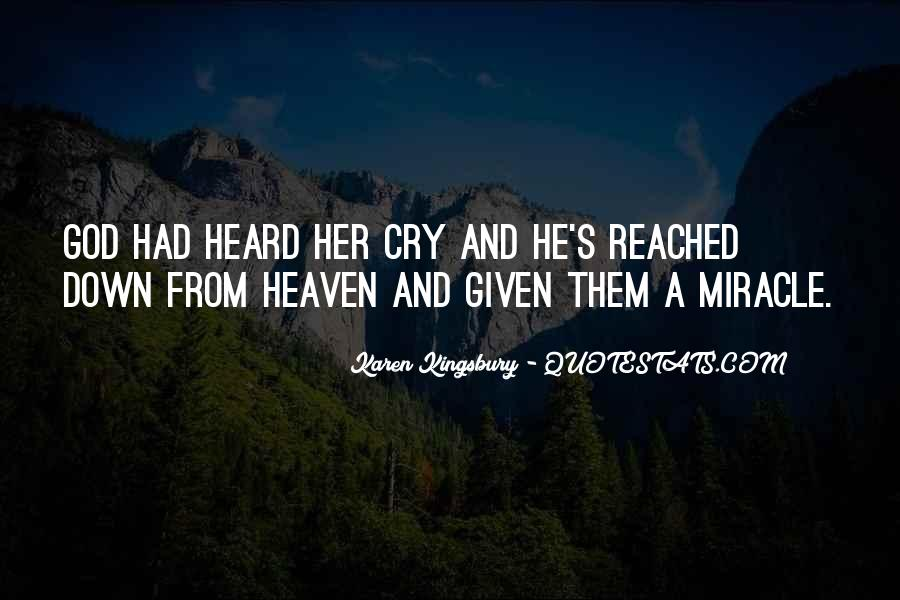 Quotes About A Miracle #49985