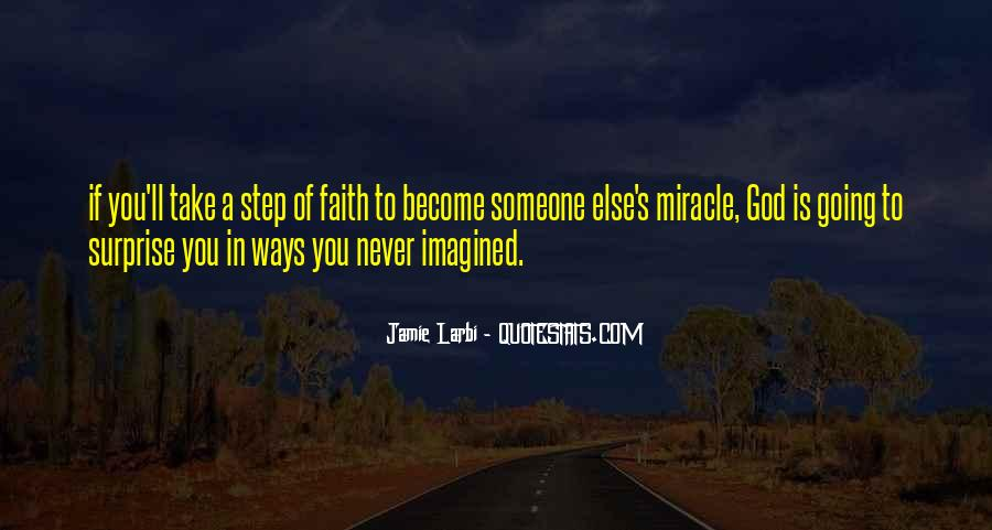 Quotes About A Miracle #57898