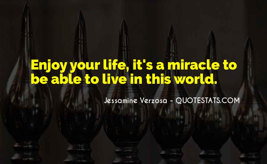 Quotes About A Miracle #67682