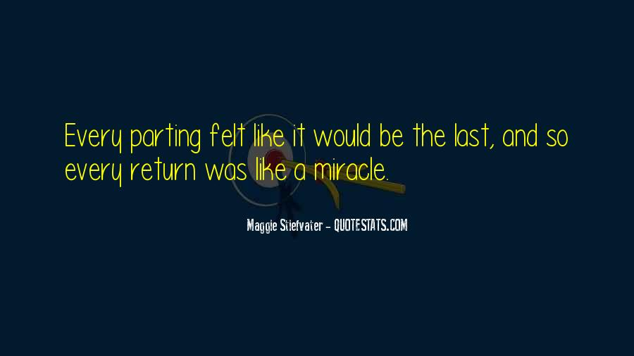 Quotes About A Miracle #76612