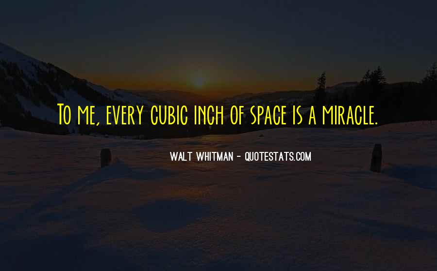 Quotes About A Miracle #85132