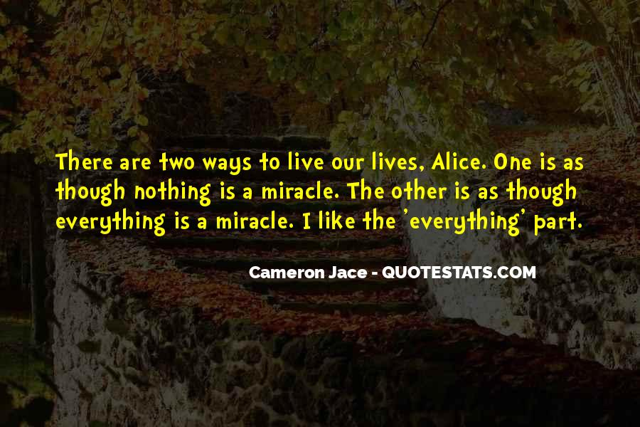 Quotes About A Miracle #89448
