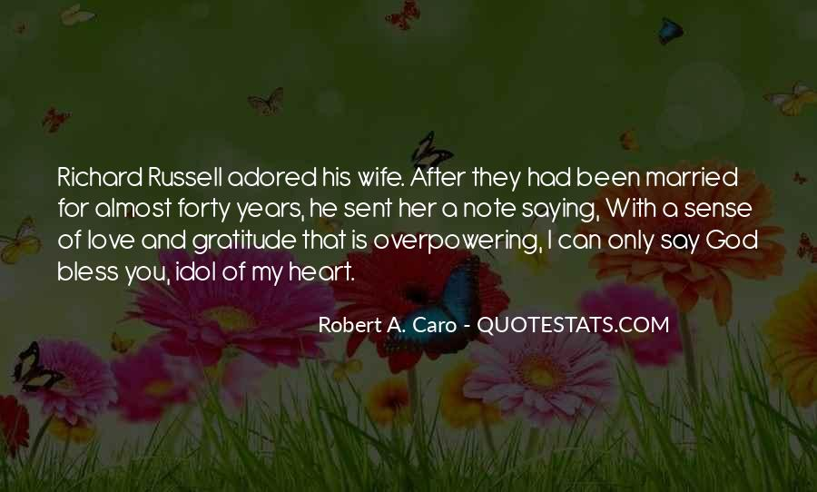 Wife After God Quotes #1230824
