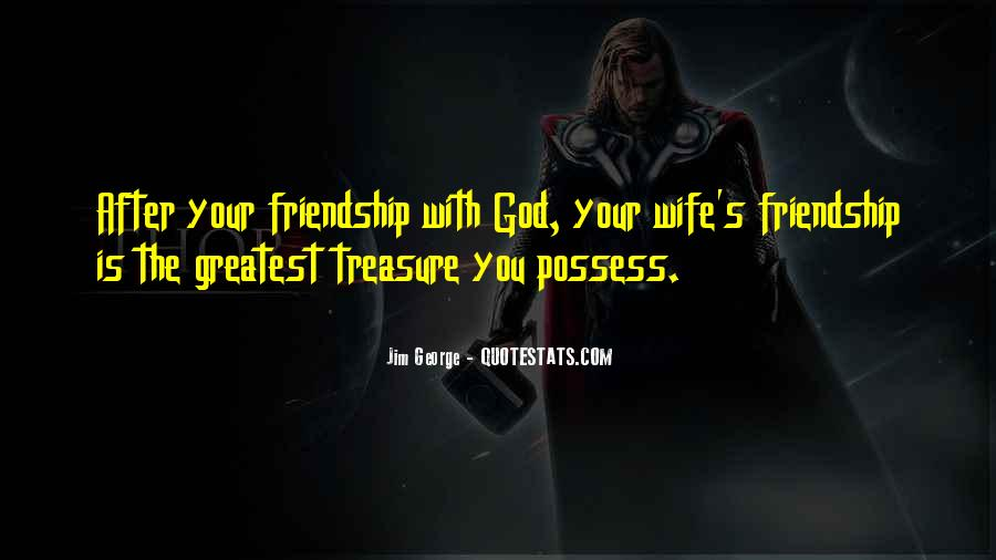 Wife After God Quotes #1674837