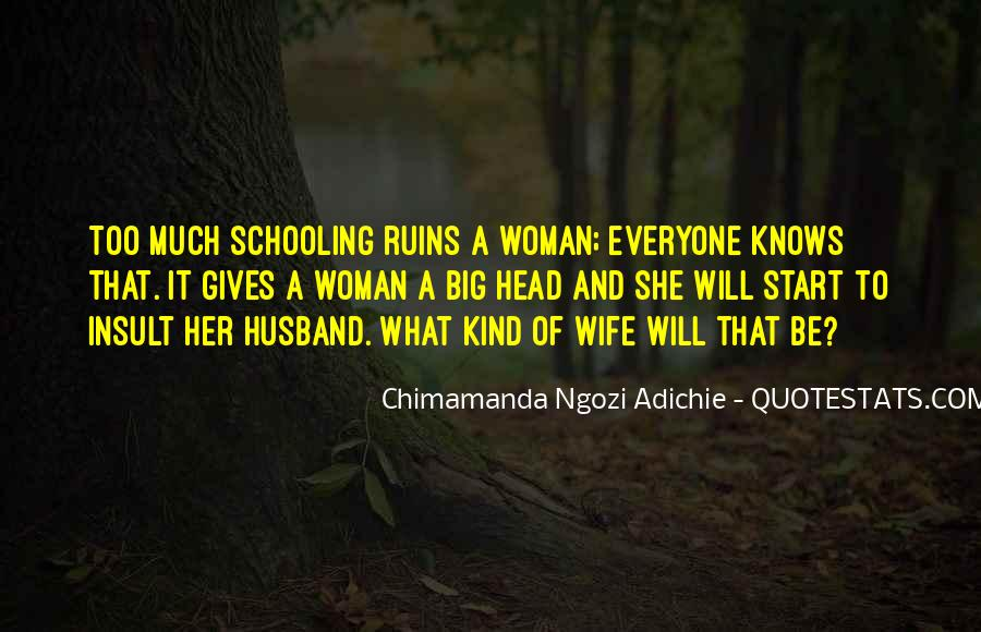 Wife Knows Best Quotes #1087897