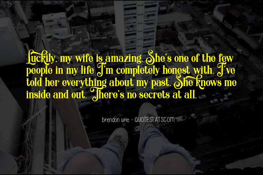 Wife Knows Best Quotes #324653