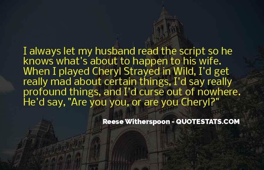 Wife Knows Best Quotes #568033