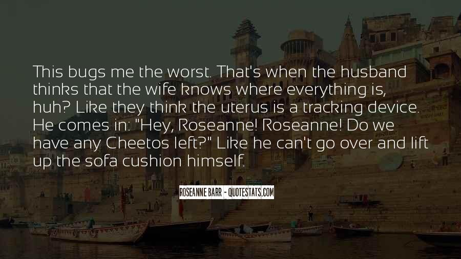 Wife Knows Best Quotes #75020