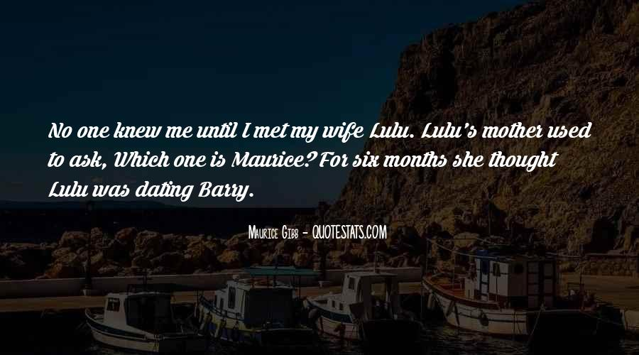 Wife Over Mother Quotes #105743