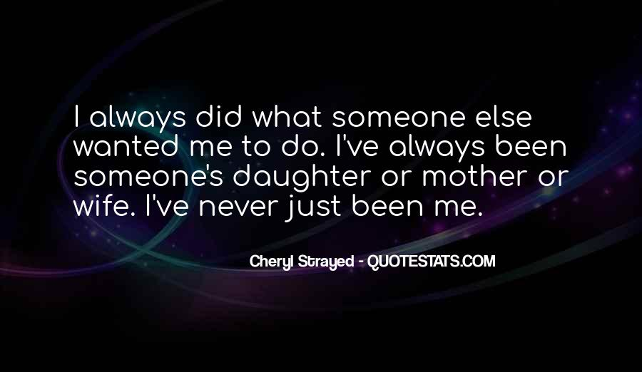 Wife Over Mother Quotes #138487