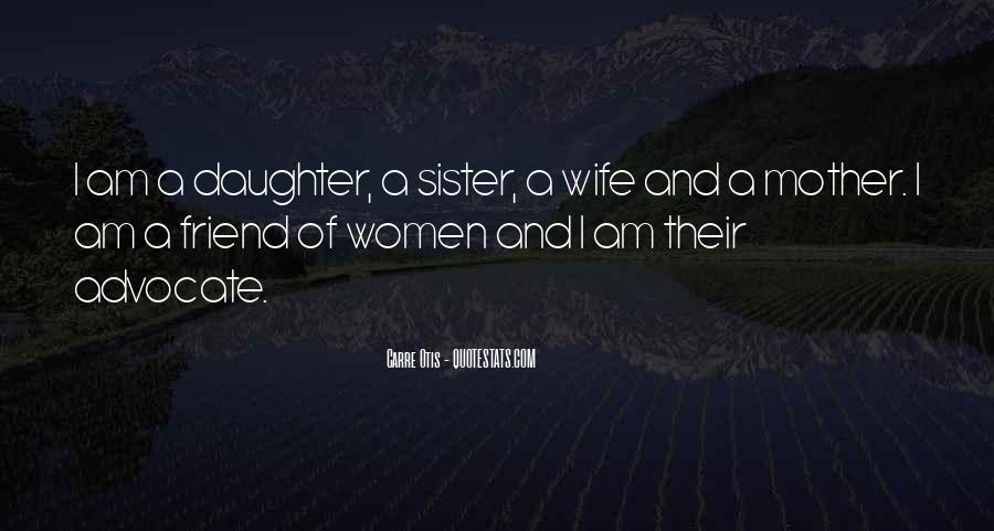 Wife Over Mother Quotes #139267