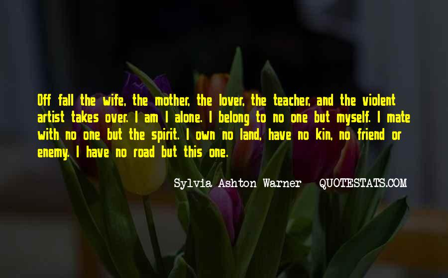 Wife Over Mother Quotes #302266