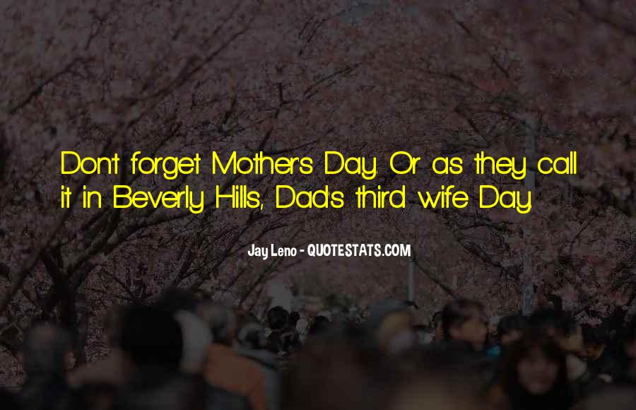 Wife Over Mother Quotes #31346