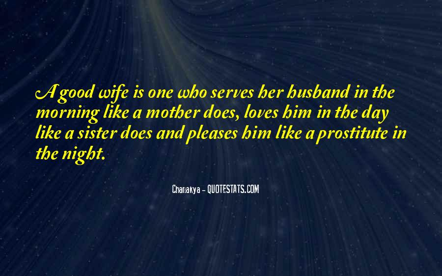 Wife Over Mother Quotes #31476