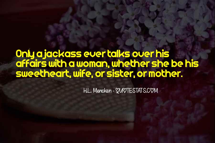 Wife Over Mother Quotes #862428