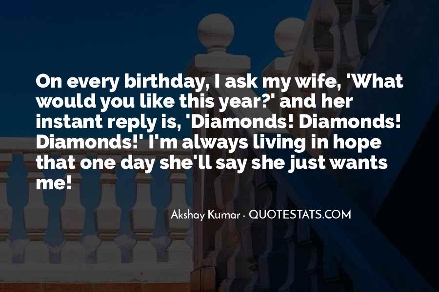 Wife's Birthday Quotes #1426108
