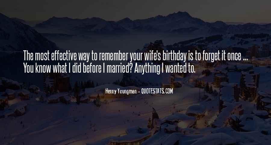 Wife's Birthday Quotes #1545714